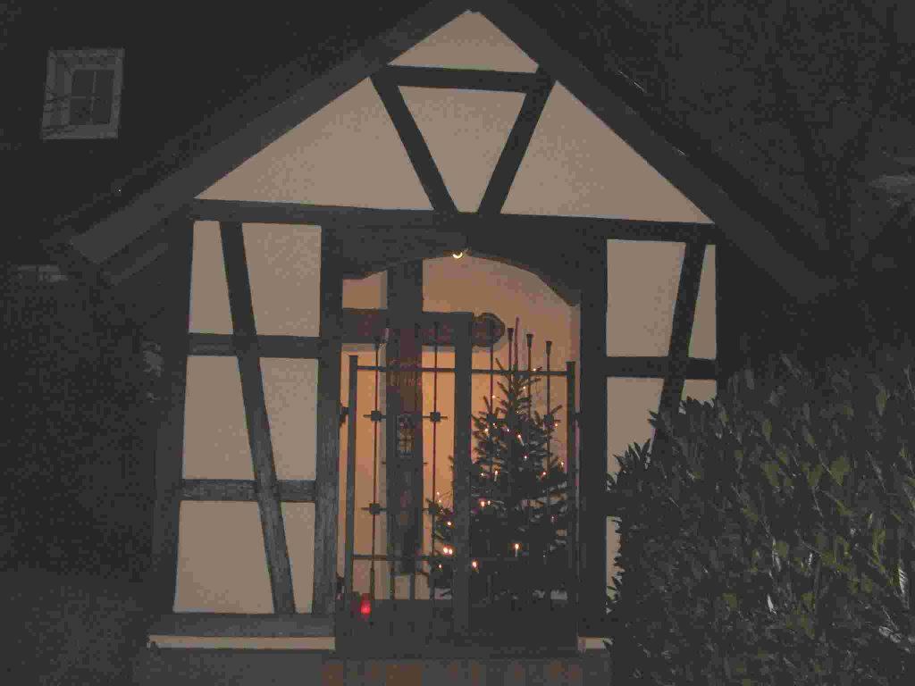 Die Kapelle im Dezember 2007